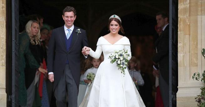 Внучката на кралица Елизабет Втора принцеса Юджини се омъжи за
