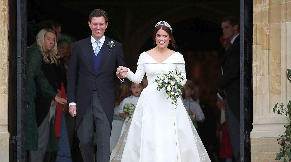 Британската принцеса Юджини се омъжи за Джак Бруксбанк (СНИМКИ/ВИДЕО)