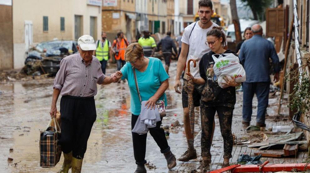 Ураганът Лесли приближава Португалия и Испания
