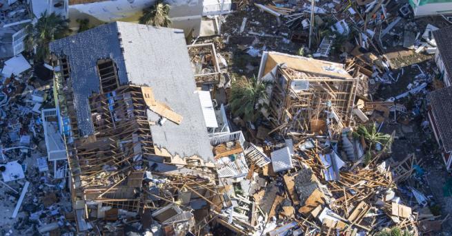 Броят на жертвите в САЩ от урагана Майкъл стана 16,