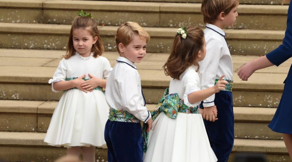 Става ли стеснителният принц Джордж палаво дете? (СНИМКИ)
