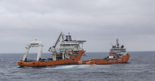 В Черно море през изминалата нощ потъна кораб, превозващ скрап