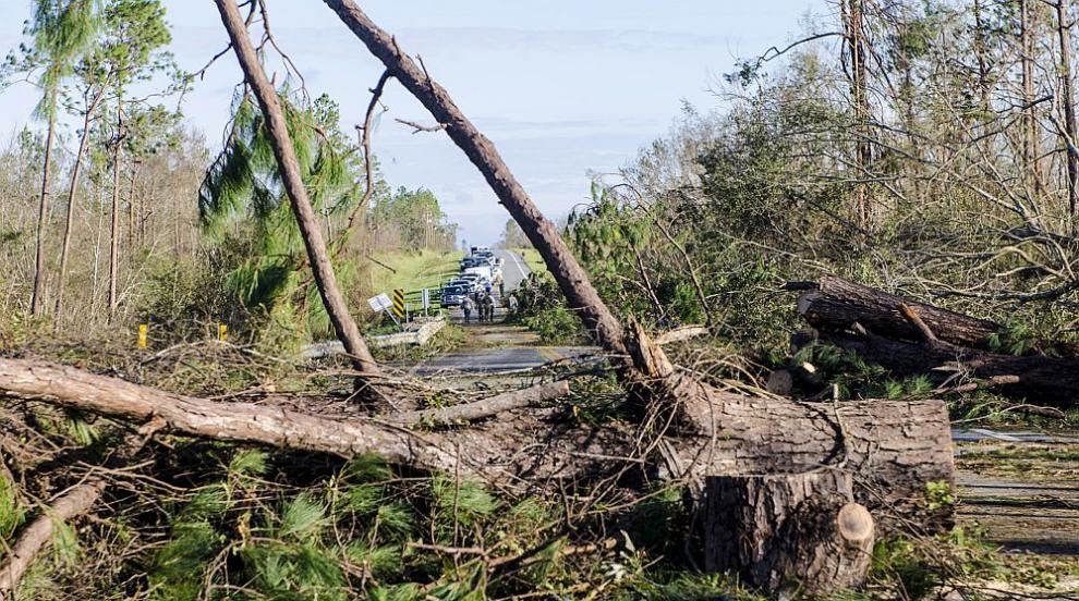 """Ураганът """"Лесли"""" достигна Португалия и Испания"""