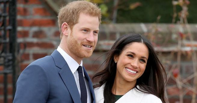 Внукът на кралица Елизабет Вторапринц Хари и съпругата му Меган