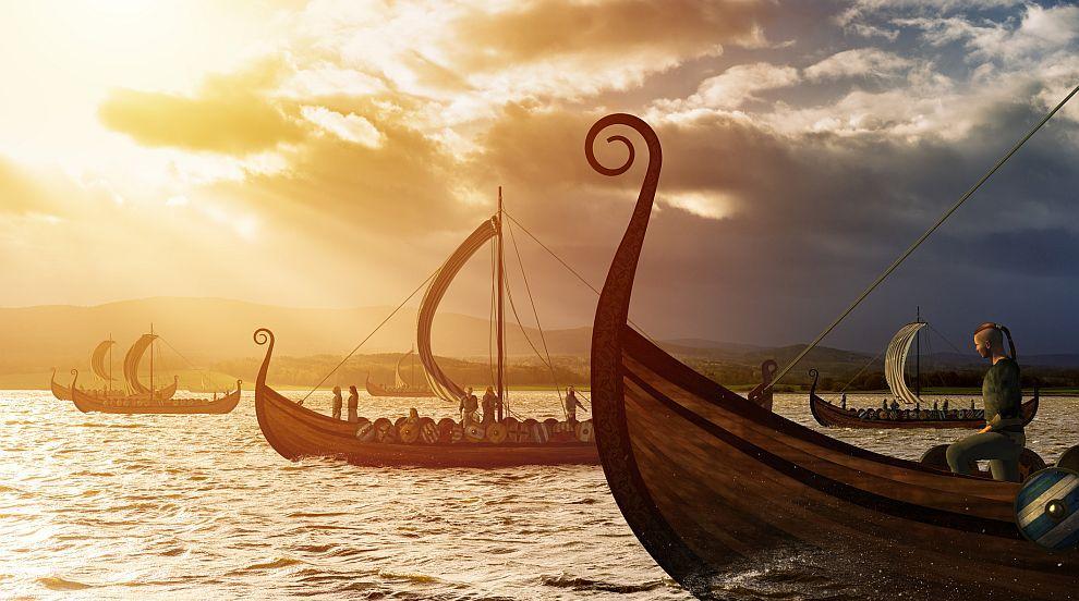 Откриха следи от викингски кораб в надгробна могила в Норвегия (ВИДЕО)