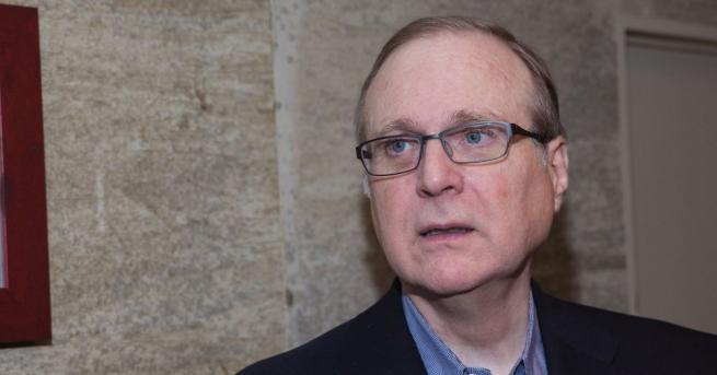Милиардерът Пол Алън, съосновал Майкрософт заедно с Бил Гейтс през