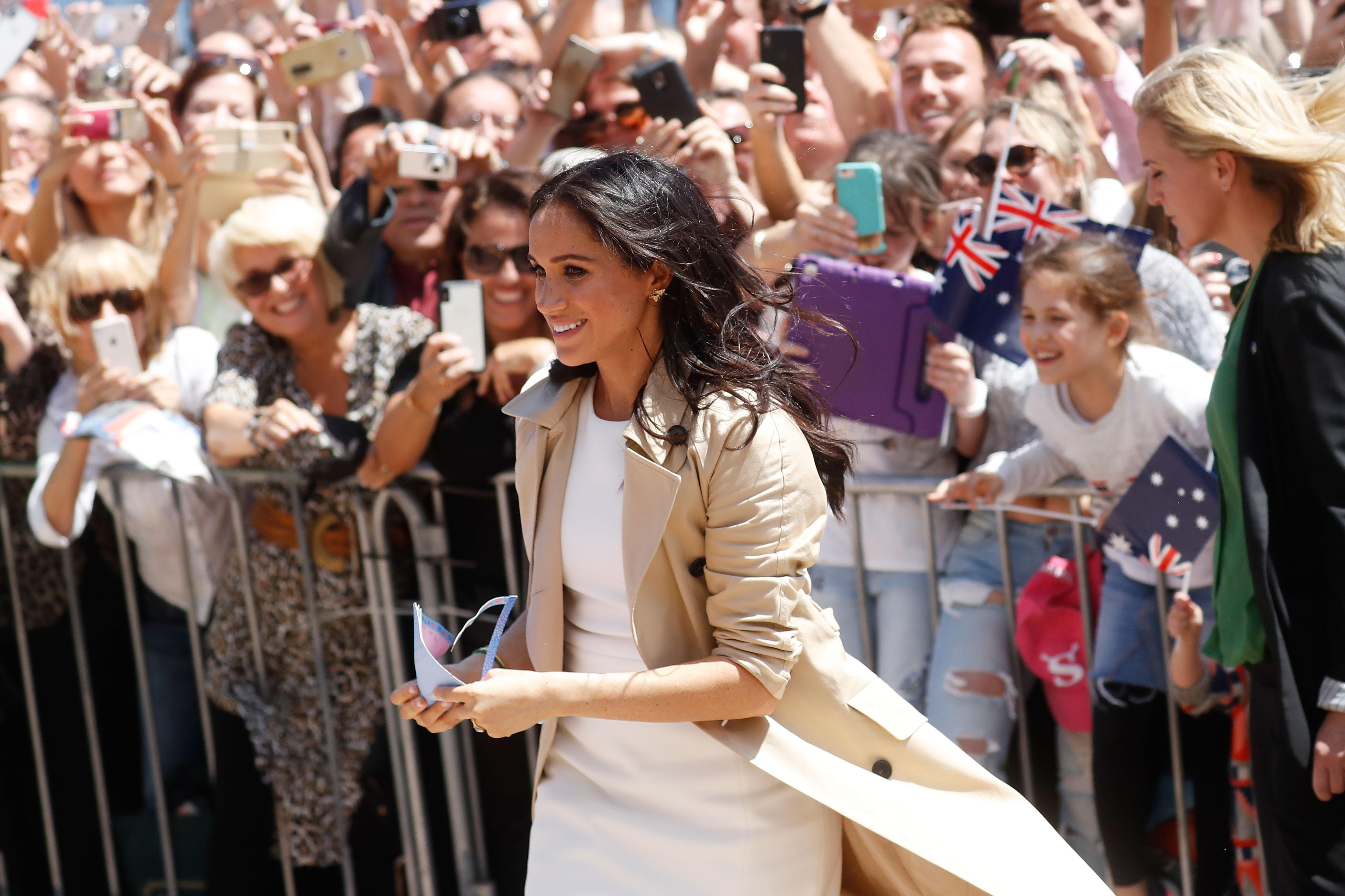 Меган Маркъл и принц Хари са на 16-дневно турне в Австралия