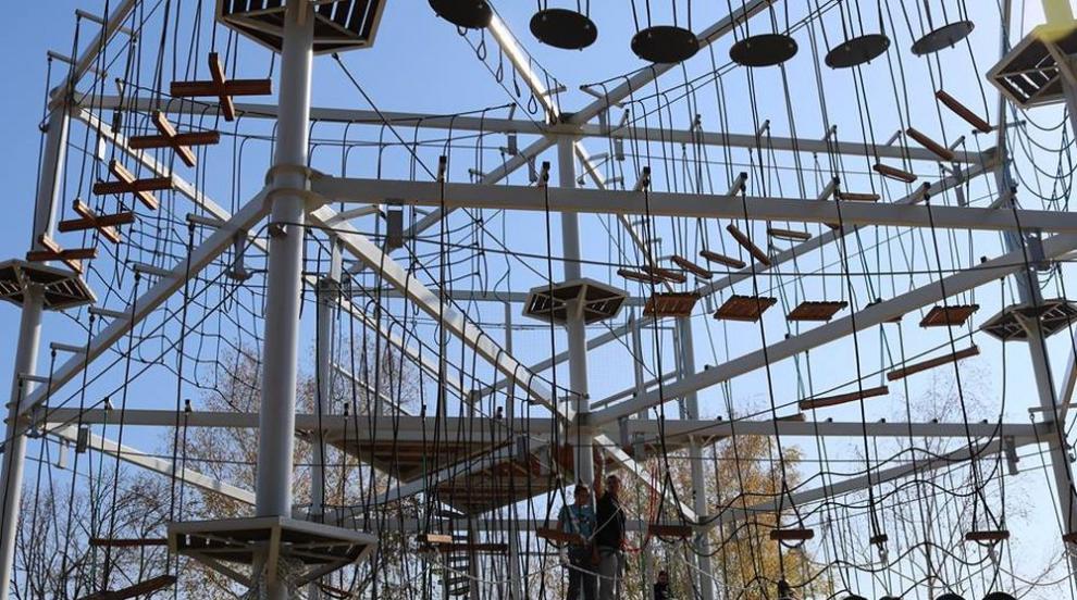 Парк на предизвикателствата откриха в Перник (СНИМКИ)