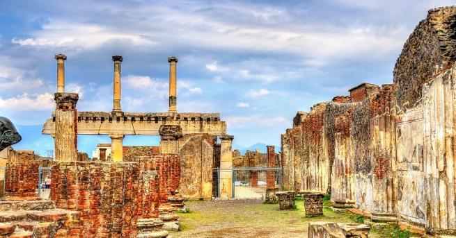 Знаменитото изригване на вулкана Везувий, изпепелило древноримския град Помпей, вероятно