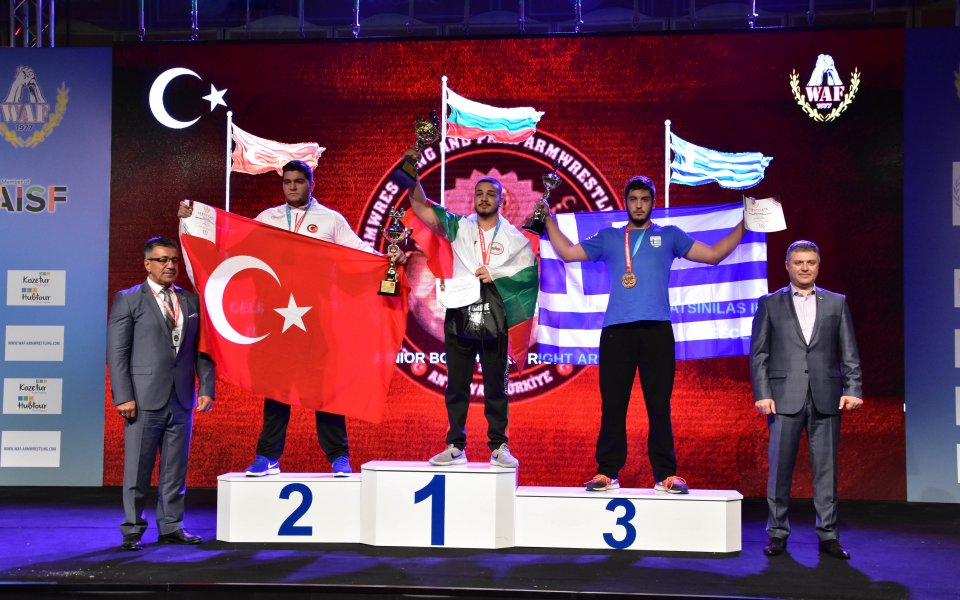 Златен медал за България в канадската борба