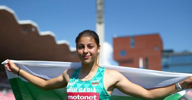 Александра Начева стана шампионка в тройния скок на Младежките олимпийски