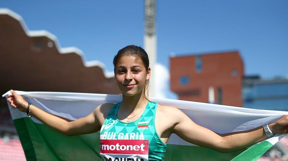 Злато за Александра Начева от Младежките олимпийски игри