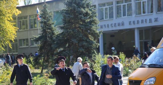 Тийнейджърът, който вчера застреля 20 души в техникум в Керч,