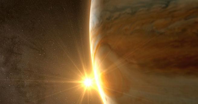 Астрономи от Кембриджкия университет в Англия откриха млада звезда, около
