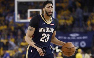 Пеликанс тръгнаха с разгром над Хюстън в НБА
