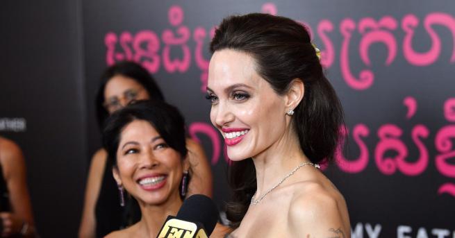 Анджелина Джоли стана блондинка. Причината - новата йроляза лентата Come