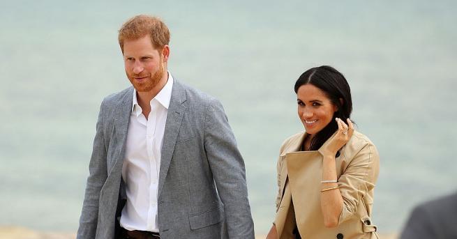 Херцозите на Съсекс принц Хари и съпругата му Меган бяха