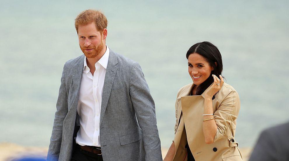 Принц Хари и Меган в Мелбърн: Плаж и аборигенско меню за обяд (СНИМКИ)