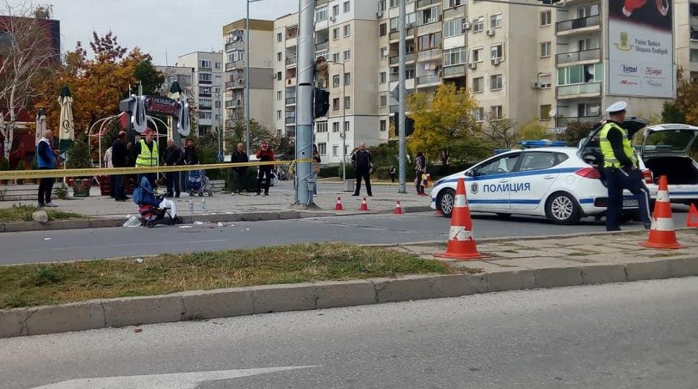 Блъснатата от автобус в Пловдив майка е в тежко състояние