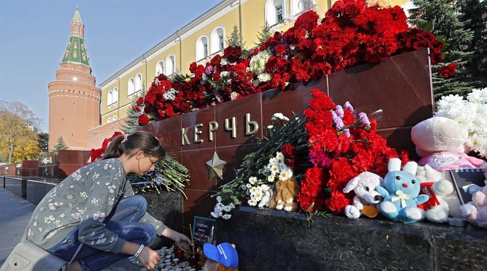 Руски издания коментират версии за масовото убийство в кримския град Керч
