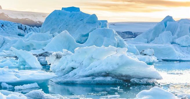 Специалисти от НАСА установиха, че голяма част от многогодишната ледена