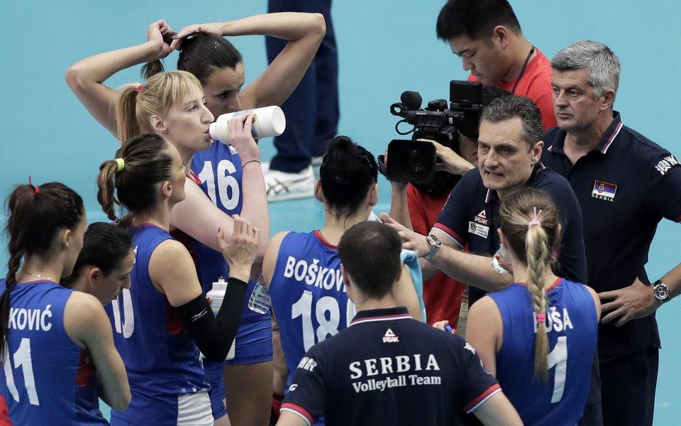 Сръбските волейболистки на финал на Световното