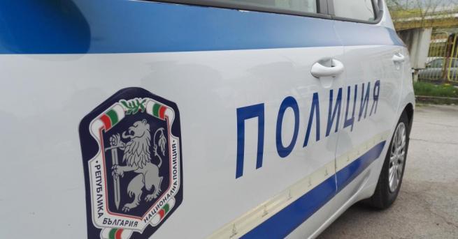 Полицейски служители на Областната дирекция на МВР в Благоевград работят