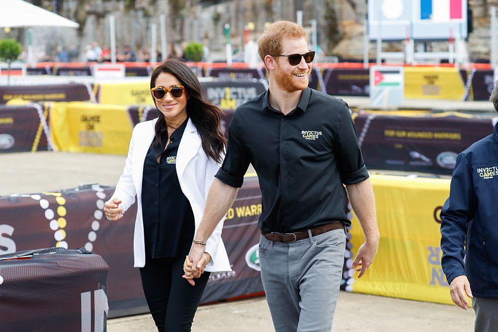 Принц Хари и съпругата му Меган в Австралия