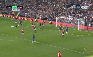 Рос Баркли спаси Челси в последните секунди срещу Юнайтед