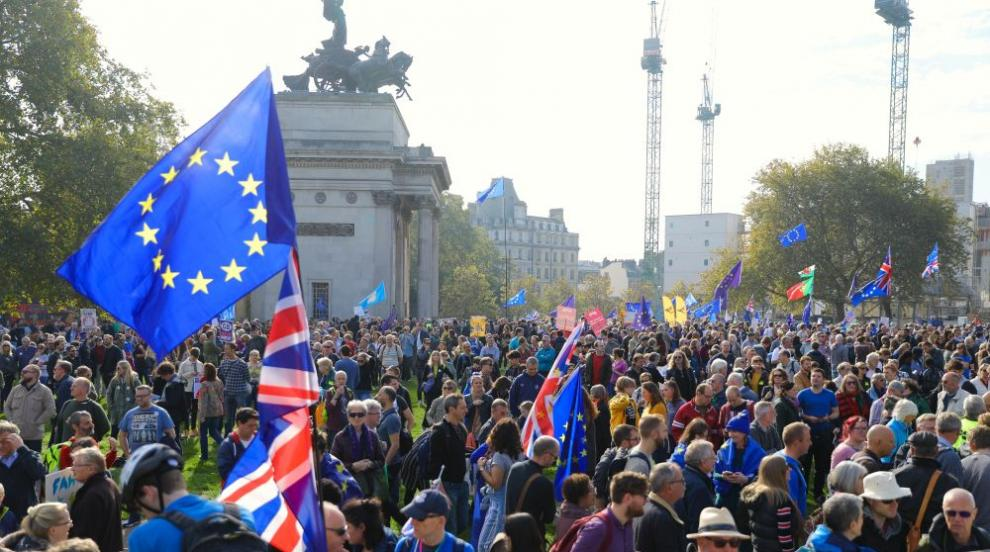 Многохиляден протест в Лондон с искане за нов референдум за Брекзит