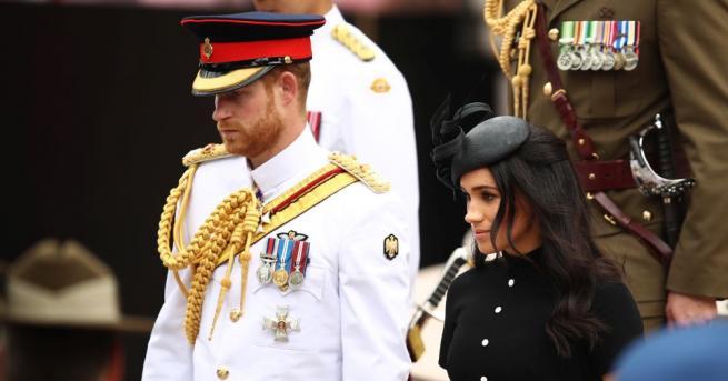 Британският принц Хари почете австралийските военнослужещи, сражавали се през Първата