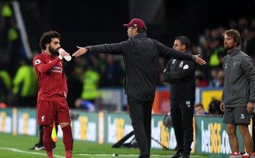 Салах спаси тътрузещия се Ливърпул срещу опашкар