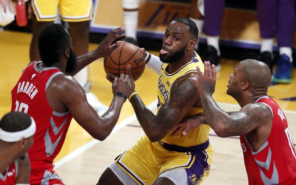 НБА обяви, че срещата между ЛА Лейкърс и ЛА Клипърс