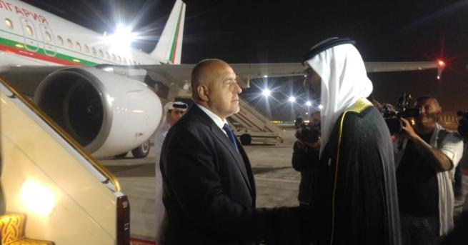 На официално посещение в Обединените арабски емирства (ОАЕ) пристигна министър-председателят