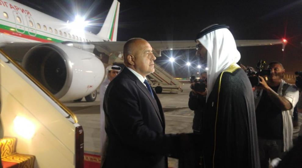 Борисов е на официално посещение в Обединените арабски емирства