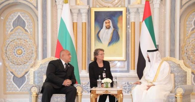 Борисов се срещна в Абу Даби с шейх Мохамед бин