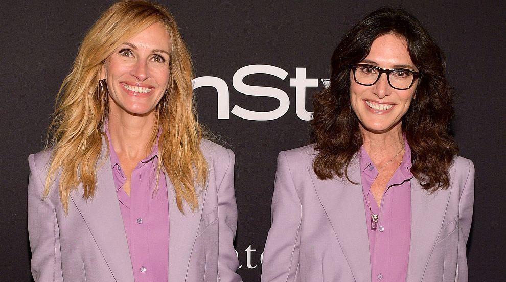 Джулия Робъртс и Елизабет Стюарт в еднакви тоалети на наградите InStyle (СНИМКИ)