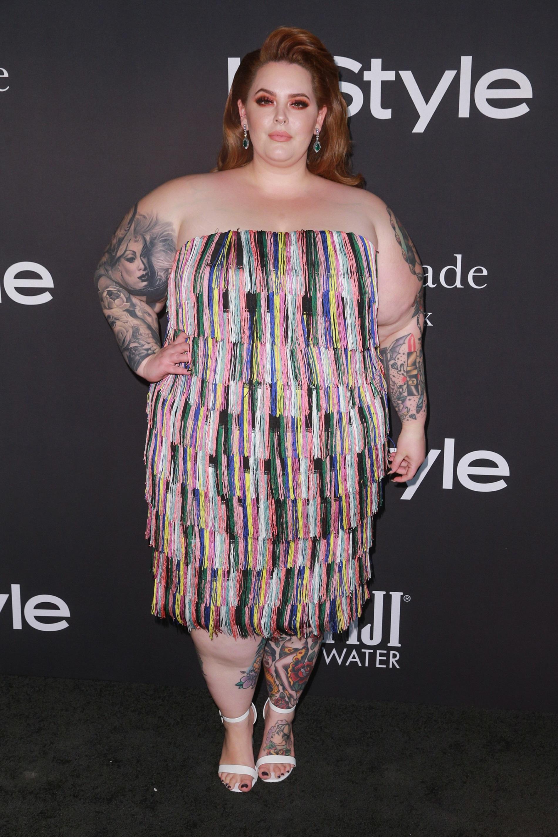 Един от най-популярните plus-size модели Тес Холидей