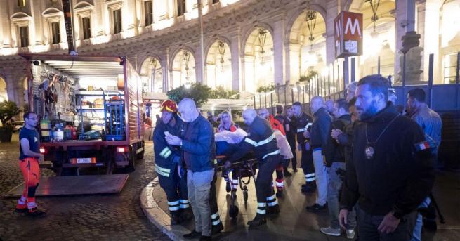 Около 30 души пострадаха заради повреда на ескалатор на една
