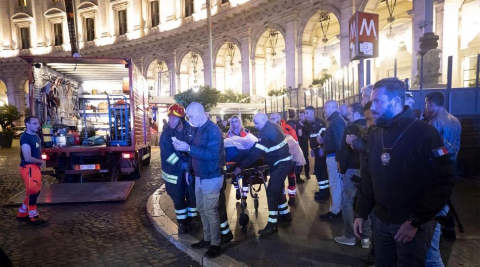 Десетки ранени при инцидент с ескалатор в метрото на Рим (ВИДЕО/СНИМКИ)