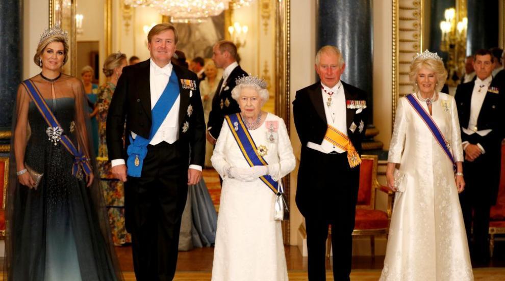 Холандското кралско семейство на гости на британското (СНИМКИ)
