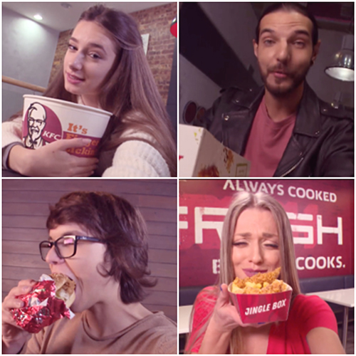 ПредКоледа в KFC