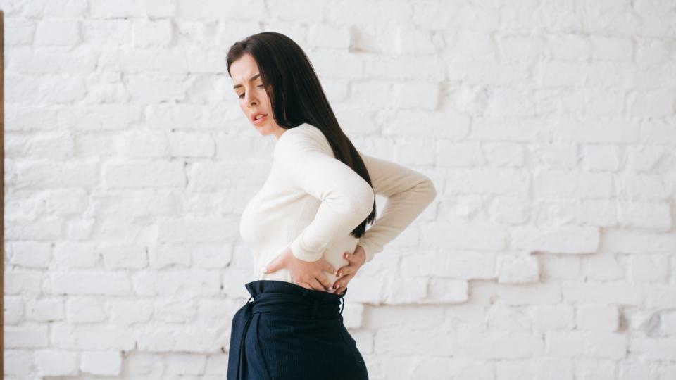 болки гръб кръст жена