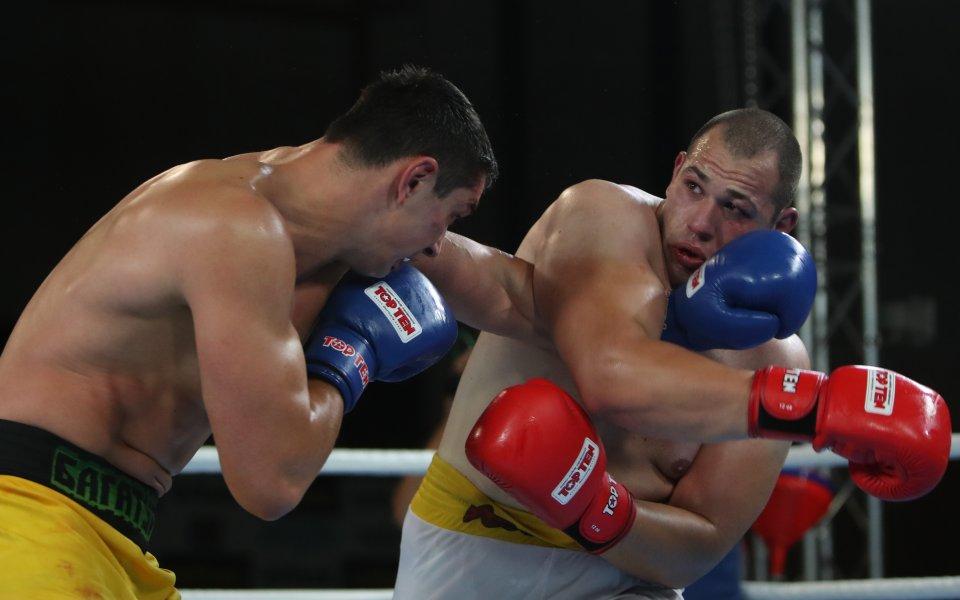 """""""Лъвовете"""" с втора победа в Националната боксова лига"""