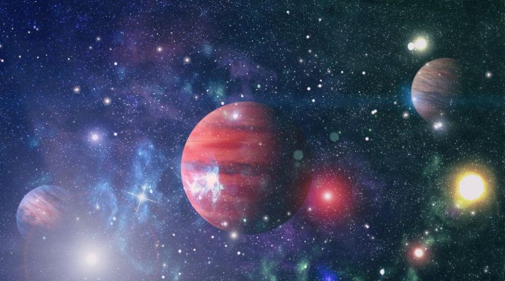 Звезда изригна 10 000 пъти по-мощно от Слънцето