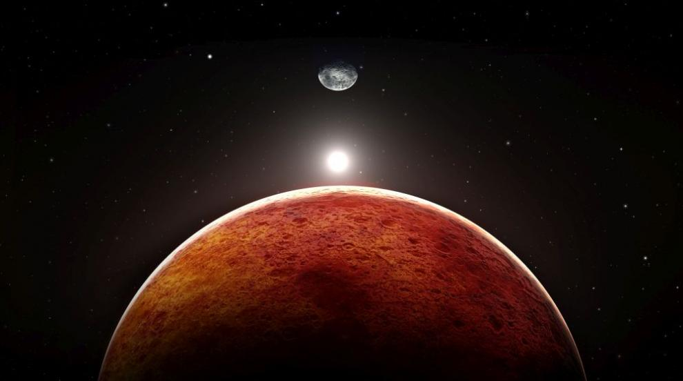 Учени откриха на Марс химични съставки, които могат да се използват за...