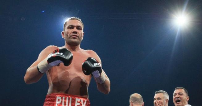 Най-добрият български боксьор Кубрат Пулев се завърна на родна земя