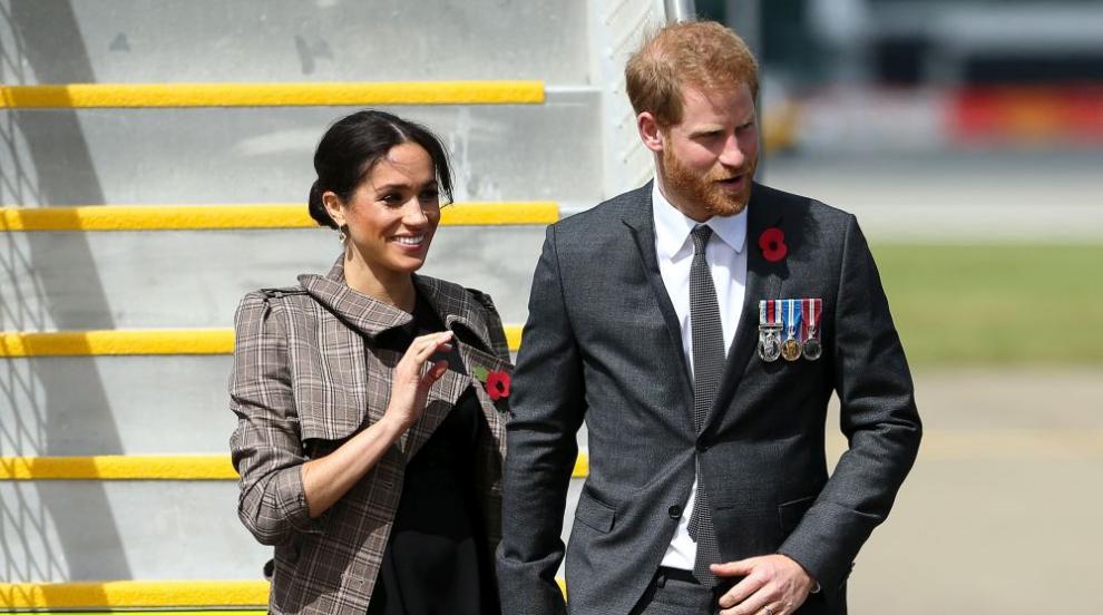 Принц Хари и Меган пристигаха в Нова Зеландия (СНИМКИ)