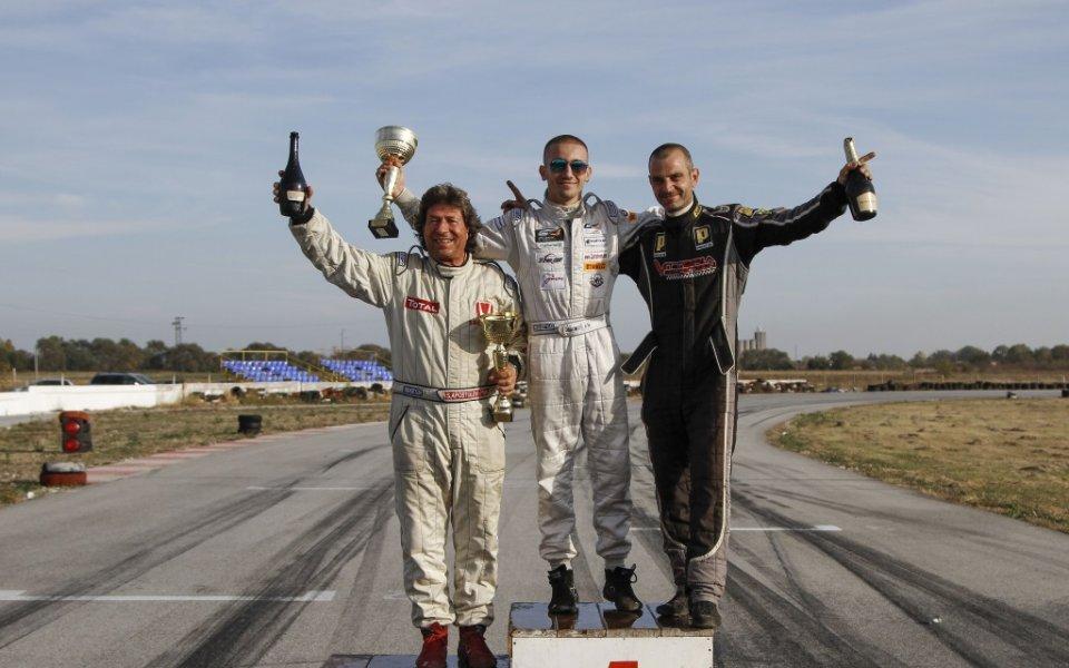 Иван Влъчков за трета поредна година шампион на затворен маршрут