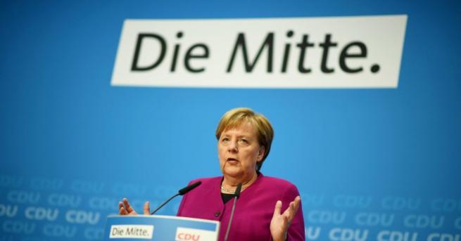 Германският канцлер Ангела Меркел потвърди, че няма да участва в